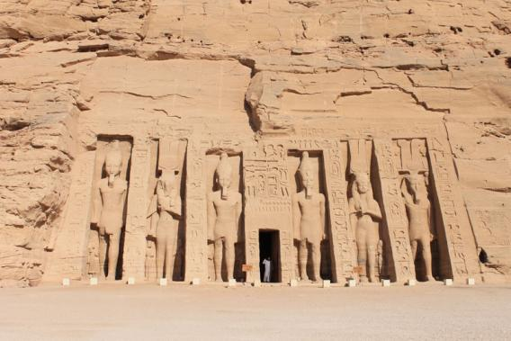 Abou Simbel - Temple d'Hathor