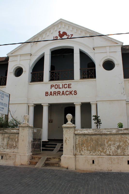 Galle - ¨Police Barracks