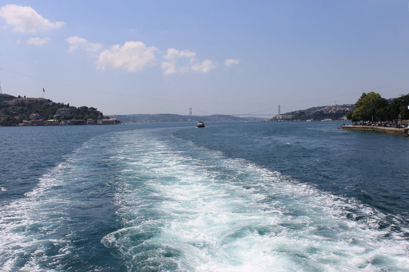 Istanbul - Le long du Bosphore - Croisière - Bosphorus Bridge