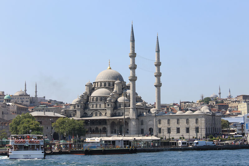 Istanbul - Le long du Bosphore - Croisière - New Mosque