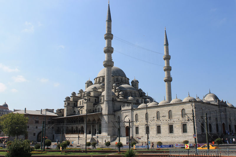 Istanbul - Le long du Bosphore - New Mosque