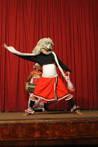 Kandy - Spectacle de Danses Traditionnelles - 06 Salupaliya