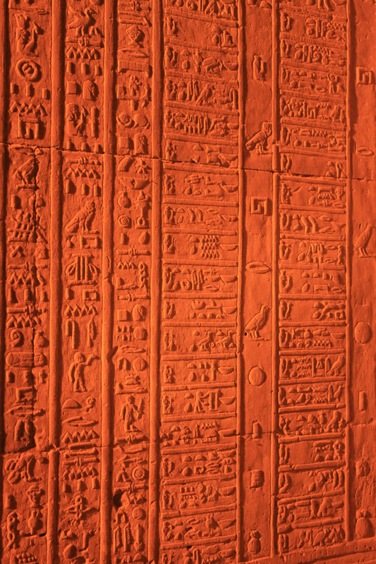 Temple de Kom-Ombo - Calendrier des Anciens Egyptiens